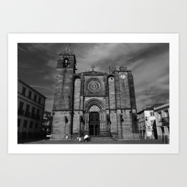 Santa María A Nova Art Print