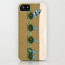 Land Sharks iPhone Case
