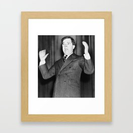 Huey P. Long - The Kingfish Framed Art Print
