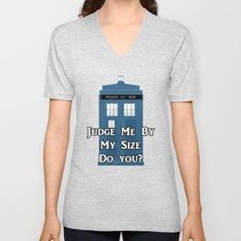Doctor Who TARDIS Unisex V-Neck
