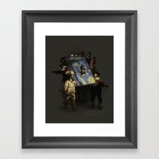 The Starry Night Watch Framed Art Print