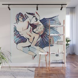 Los Caprichos ~ 66 ~ There It Goes Wall Mural
