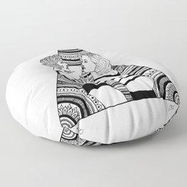 The Girls Floor Pillow