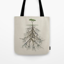 In the deep (tree) Tote Bag