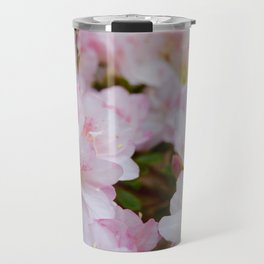 Blooming Azalea Flowers Travel Mug
