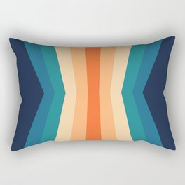 70's Retro Reflection Rectangular Pillow
