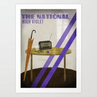 the national Art Prints featuring The National by Seana Seeto