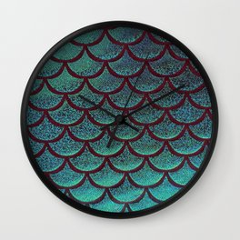 Tip the Scales Wall Clock