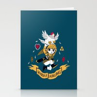 hyrule Stationery Cards featuring hyrule airlines by Louis Roskosch