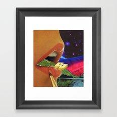 Colossal Balance of Subjects Framed Art Print