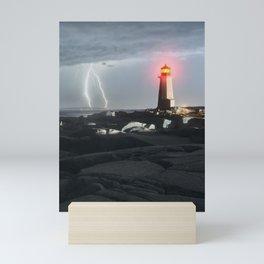 Luminous Discharge Mini Art Print