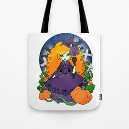The Violet Witch Tote Bag