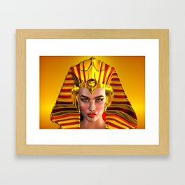 The Face Of Egypt Framed Art Print