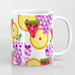 Summer Fruit Salad Surprise Coffee Mug