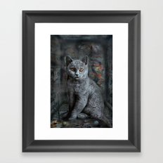 cats instantaneous Framed Art Print