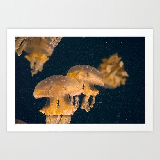 Aquatic Dance Art Print