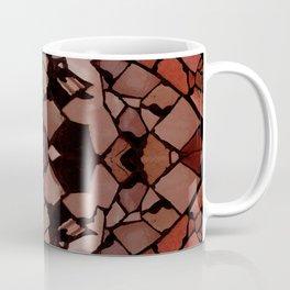 Mosaic - Red Ruby Coffee Mug