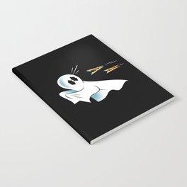 A Fearful Phantom (Black) Notebook