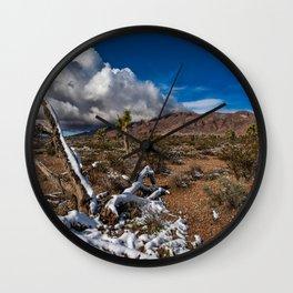 Desert Snow 4922 Wall Clock