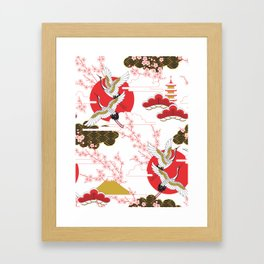 japan art Framed Art Print