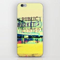 Pike Place Market | Project L0̷SS   iPhone & iPod Skin