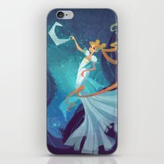 Serenity on the Moon iPhone Skin