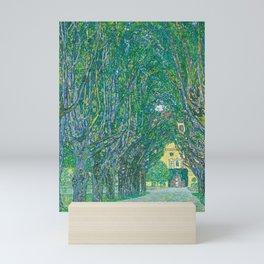 Avenue In The Park Of Schloss Kammer Mini Art Print