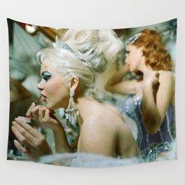 Las Vegas Showgirls 1960 Wall Tapestry