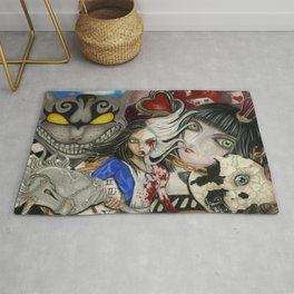 Alice the madness returns Rug