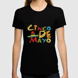 Cinco De Mayo - May 5th Mexican Pride Sombrero T-shirt