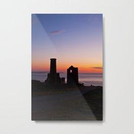 Wheal Coates Tin Mine, St.Agnes, Cornwall Metal Print
