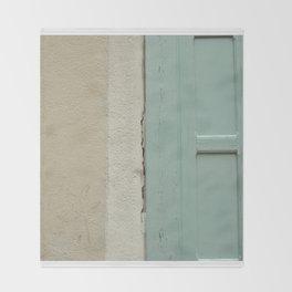 old door Throw Blanket