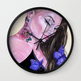 Scar Tissue Wall Clock