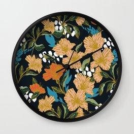 Flowering sweet bloom 03 Wall Clock