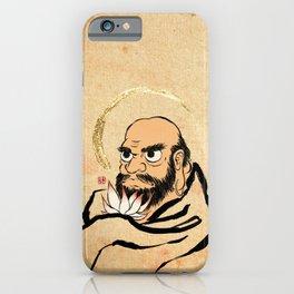 Minhwa: Bodhidharma B Type (Korean traditional/folk art) iPhone Case