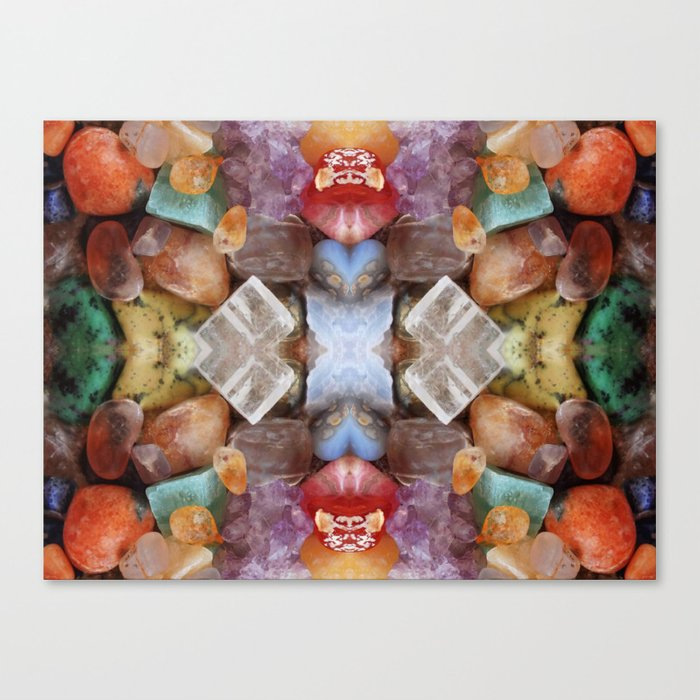 Fiery gems for you Canvas Print