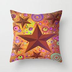 Stars & Circles  Throw Pillow