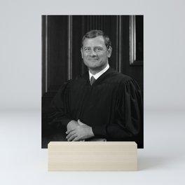 Chief Justice Roberts Portrait Mini Art Print