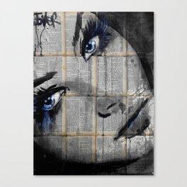 DEEP POOLS Canvas Print