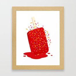 Ice_Pop Framed Art Print