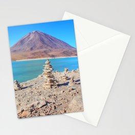 Laguna verde Bolivia Stationery Cards