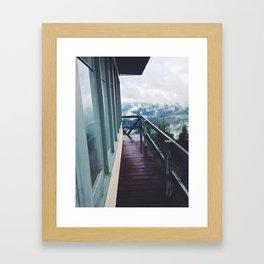 Bald Mountain Lookout Framed Art Print