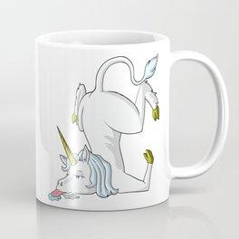 Fumble unicorn Coffee Mug