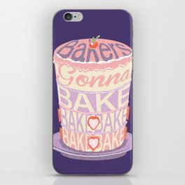 Bakers Gonna Bake iPhone Skin