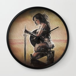 WonderWoman Wall Clock