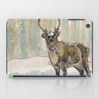 reindeer iPad Cases featuring Reindeer by Meredith Mackworth-Praed