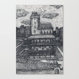 Villa intruders Canvas Print