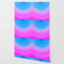 Pink & Blue Circles Wallpaper
