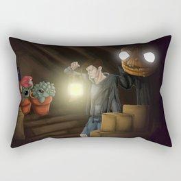 Attic Monsters Rectangular Pillow