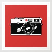 Love Leica Art Print